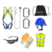 safety pack and harness set